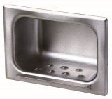 Frost 1132-HD - Recessed Soap Dish, Heavy Duty