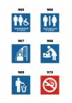 Frost 965-970 - Specialty Washroom Signage
